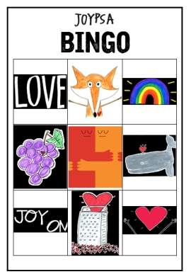 Bingo Game for Sightings Around Town